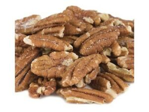 PECANS Roasted Salted Mammoth Pecan Halves Select Weight $11.99