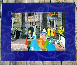 Sleeping Beauty 2003 Exclusive Commemorative Lithograph Disney Store Made USA