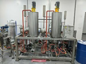 Wiped Molecular Thin Film Distillation Unit - 2 stage