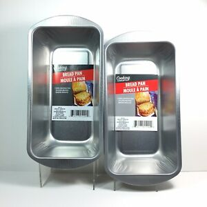 Bread & Loaf Pan by Cooking Concepts for Breads, Meat Loafs, 2 Pk Brand New
