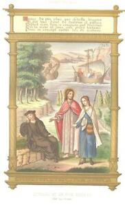 THE DREAM OF MAISTRE JACQUES Jesus CHROMOLITHOGRAPH Antique Art Print [IncSMP101 $28.00