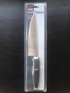 "OXO Soft Works - CHEF'S KNIFE 8"" Blade - Stainless Steel - Soft Grip Handle"