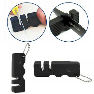 Outdoor Pocket Knife Sharpener Portable MiniCeramic Tungsten Sharpening Tool