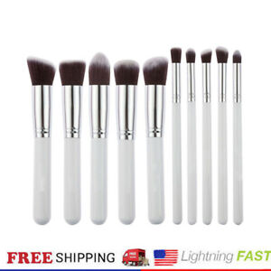 10X Pro Cosmetic Makeup Brushes Tools Contour Foundation Face Lip Brush 100 Sets