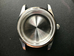 36MM STEEL EXPLORER WATCH CASE WITH DRILLED THROUGH LUG FIT ETA 2824 OR NH35 36 $50.99