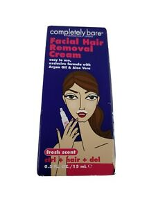 Completely Bare Facial Hair Removal Cream Control Hair Del. $5.10
