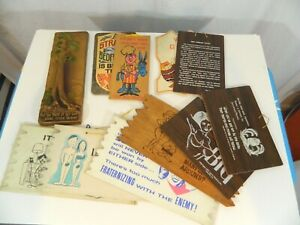 LOT of Mostly Inappropriate vintage bar and man cave signs and plaques $94.05