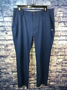 Under Armour Navy Golf Pants Size 33 32⛳️🔥Rare👀Free Shipping🔥 $24.88