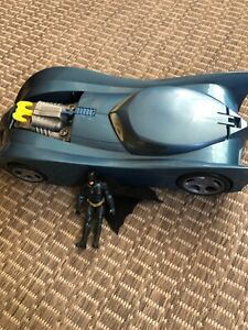 1997 batmobile w added action figure   free shipping