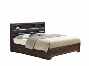 Global Furniture USA Noma Dark Merlot Bed