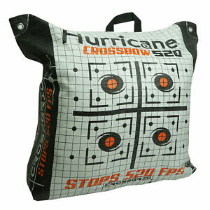 Hurricane H60410 Double Sided 460 FPS Woven Crossbow Archery Bag Target White $69.99