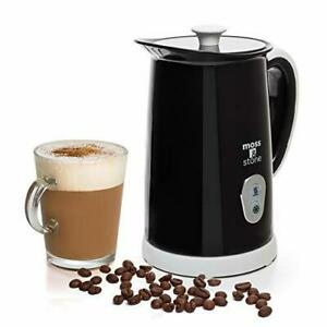 Moss & stone Electric Milk Frother & Steamer for Making Latte, Cappuccino, Hot