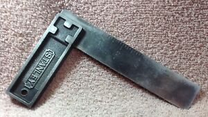 VIntage STANLEY No.12 6 INCH All Metal SQUARE $14.00