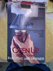Open Up Electric Jar Opener We Ship On Saturday