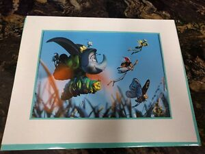 DISNEY EXCLUSIVE COMMEMORATIVE LITHOGRAPH 1999 A BUGS LIFE