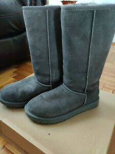 Ugg Classic Tall Ii Boots Grey 8 Great condition