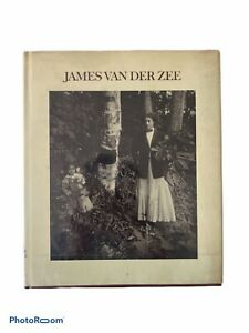 "Photo book collection ""James Van Der Zee"" by James VanDerZee 1973, hardcover"