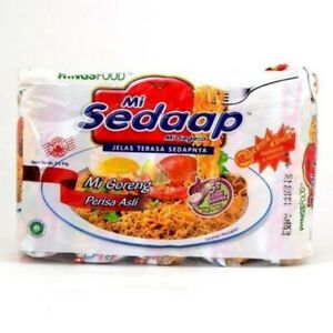 10 packs Sedaap Instant Fried Noodle Original Flavour (91 gram each)