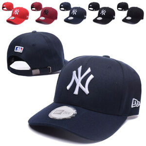 Retro New York Yankees Baseball Cap Embroidered NY Cotton Hat Adjustable Unisex