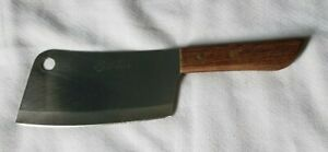 Kiwi Brand Meat Cleaver Kitchen Stainless Steel Blade 5 3/4