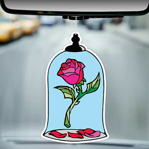 Beauty and the Beast Car Air Freshener Air Freshner Personalized Air Freshener