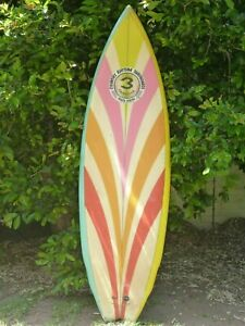 Surfboard Collectors The original 3 Fin concept and design by Simon Anderson