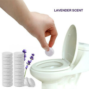 10PCS/Pack(1PCS=4L Water) Multifunctional Effervescent Toilet Cleaner Tablets