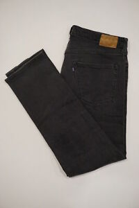 Levi#x27;s Made amp; Crafted Jeans 36W 32L Tag 38W 34L Ruler Straight Black $28.00