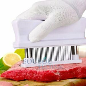 Meat Tenderizer 48 Stainless Steel Ultra Sharp Needle Blade Kitchen Cooking Tool