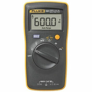 US BUYER FLUKE 101 Basic Digital Multimeter Portable Meter AC DC Volt Tester $42.14