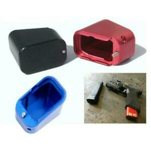 17 22 34 35 +4 +3 Magazine Extension Base Pad Rock Your Glock For Glock 3 Colors $12.29