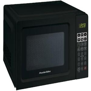 Microwave Oven Heat Countertop LED Digital Child Safety Lock Kitchen Home Office