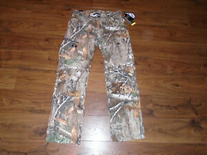 Under Armour Men's Size 36x32 Field Ops Pants Camo Hunting Realtree Edge $100 $59.99