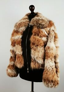 RARE Gianni Versace Fur Coat Womens Size Small