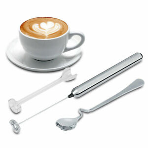 Handy Egg Beater Milk Frother Drink Foamer Electric Whisk Coffee Mixer Stirrer