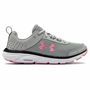 Under Armour Charged Assert 8 Gray Womens Running Shoes $51.79