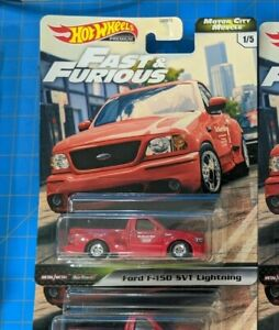 2020 Hot Wheels Premium Fast and Furious Ford F150 SVT Lightning