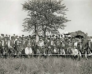 8 by 10 Photo Print 1913 Gettysburg Reunion Union Veterans at Bloody Angle $9.88