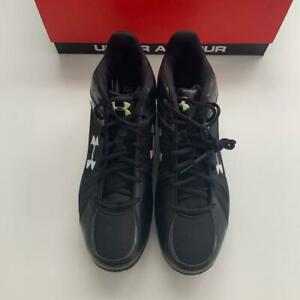 Under Armour Ignite Mid TPU Baseball Football Lacrosse Sport Cleats Shoes 13 NEW $34.99