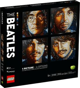 LEGO 31198 The Beatles ART all 4 FREE SHIPPING $959.92