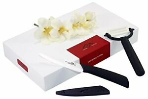 Home Kitch 4 inch Utility Ceramic Knife Set For Fruits And Vegetables. Fruit