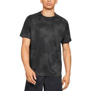 Under Armour Mens Logo Printed Short Sleeves T Shirt Athletic BHFO 4027 $11.25