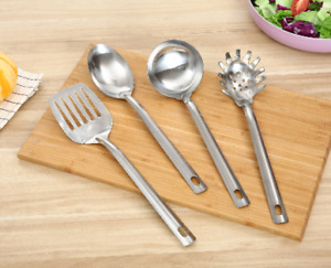 NEW Quality Stainless Steel 4 Piece Kitchen Utensil Tool Set FREE SHIPPING