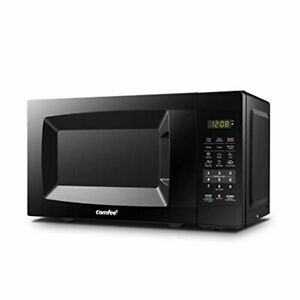 COMFEE' EM720CPL-PMB Countertop Microwave Oven with Sound On/Off, ECO Mode and E