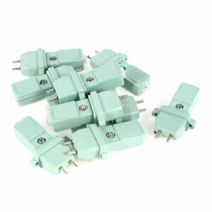 10 Pcs CZ-200 Electric Screwdriver Power Cable Connect Socket 2Pin 8mm Pitch