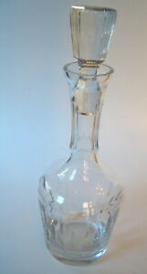 Crystal Wine Decanter with glass stopper