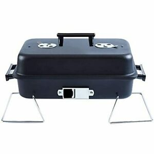 ISUMER Portable Charcoal Grill with Lid Folding Tabletop BBQ Grill Barbecue