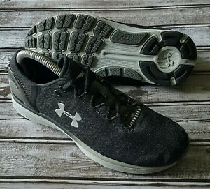 UNDER ARMOUR Mens BANDIT 3 Black Gray Running Shoes SIZE 9 $7.45