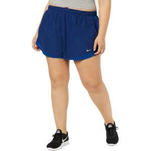 Nike Womens Tempo Running Fitness Workout Shorts Athletic Plus BHFO 4610 $21.00