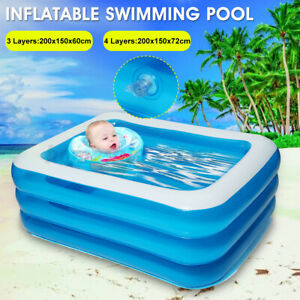 Children Swimming Pool Portable Child Pool Kids Inflatable Outdoor Indoor Pool